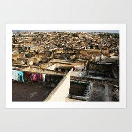 Lost in the Medina Art Print