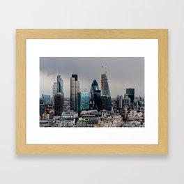 London Skyline Framed Art Print