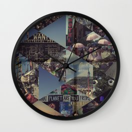 Glasto 2010 Wall Clock