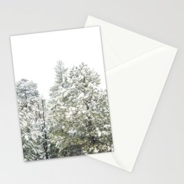 Lapse of Snow Stationery Cards