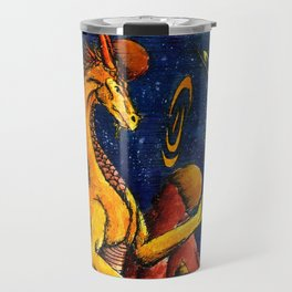 Yellow Dragon Travel Mug