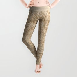 Sand Mandala Leggings