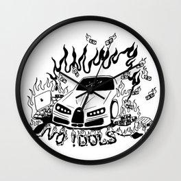 No Idols Wall Clock