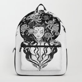Cosmos Moon Goddess Backpack