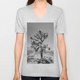 Joshua Tree Monochrome, No. 3 Unisex V-Neck
