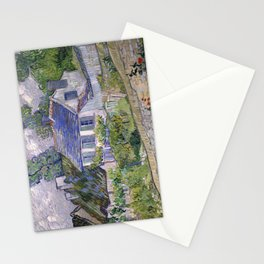 Houses at Auvers by Vincent van Gogh, 1890 Stationery Cards