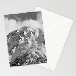 Snowy Alaskan Mountain - 2 Stationery Cards