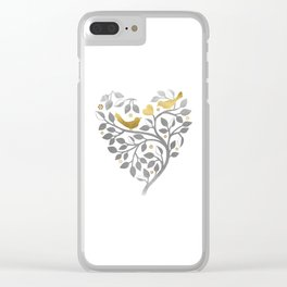Love Branch Clear iPhone Case