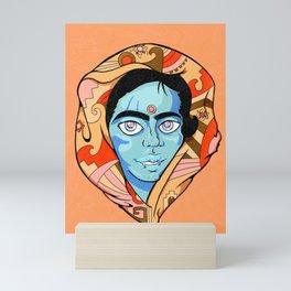 Blue Demon Mini Art Print
