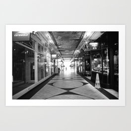 Light at the end of the tunnel Art Print