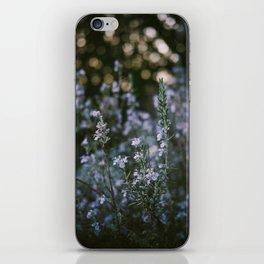 Spring Purple iPhone Skin