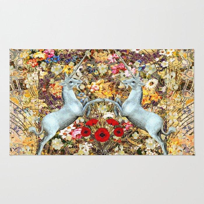 Unicorn Garden Rug