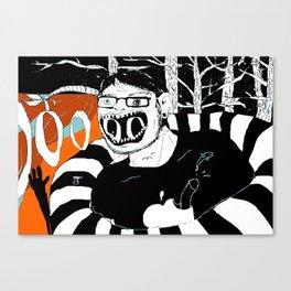 S.O.S, MF. Canvas Print