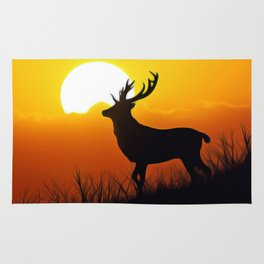 Forest Nature Art Rug
