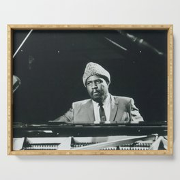 Thelonious Monk - Black Culture - Black History Serving Tray