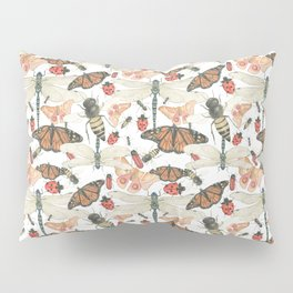 Scattered Bugs Pillow Sham