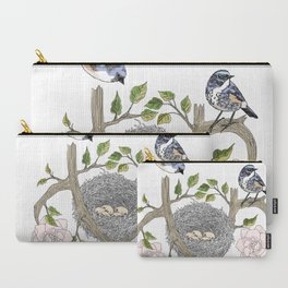 birds family Carry-All Pouch