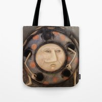 bug Tote Bags featuring Bug by Fizzyjinks