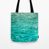 dave grohl Tote Bags featuring SIMPLY SEA by Catspaws