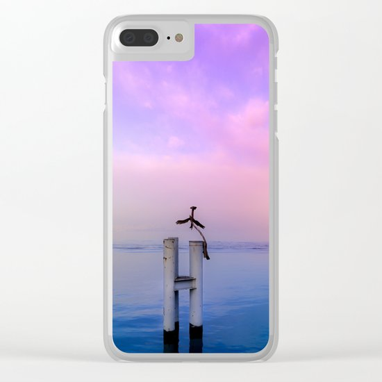 The guardian of time Clear iPhone Case