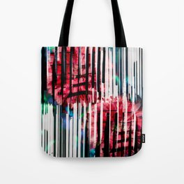 Floral Keys [red] Tote Bag