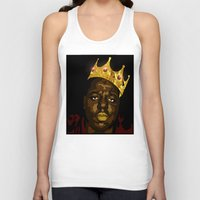 notorious Tank Tops featuring Notorious by PeacexLovexAnimate