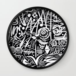 Chalk Board! Wall Clock