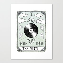 The Vinyl Canvas Print