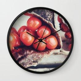 Seed Pods III Wall Clock