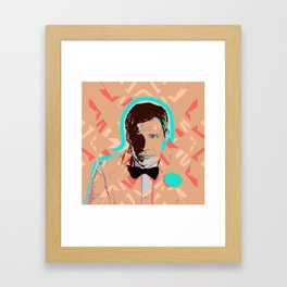 Bowtie Crowd Framed Art Print