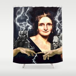 Mary Shelley Shower Curtain