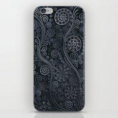 3D ornaments, soft blue iPhone & iPod Skin