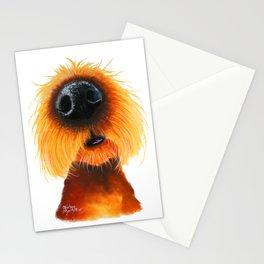 Dog PRiNT ANiMaL PRiNT 'SMeLLs LiKE SuNShiNe' by Shirley MacArthur Stationery Cards