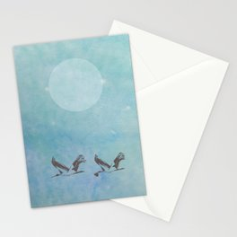 Full Moon Cruiser Ride Stationery Cards