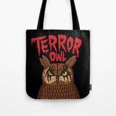 Terror Owl Tote Bag