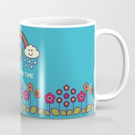 Cute summer poster with text - illustration Coffee Mug