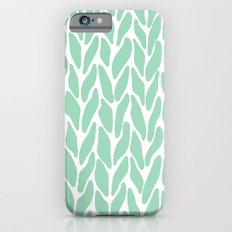Hand Knitted Mint iPhone 6s Slim Case