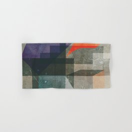 Abstract composition with stairs Hand & Bath Towel