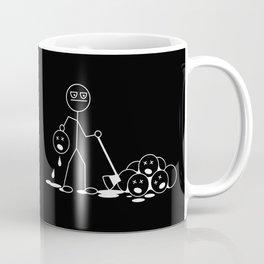 Stick figure psycho Coffee Mug