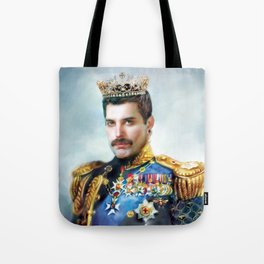Portrait of the Queen Tote Bag