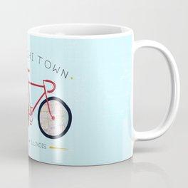 Chicago, Illinois by I Bike Coffee Mug