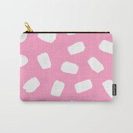 Candyfloss Brushstrokes Carry-All Pouch