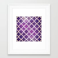 morocco Framed Art Prints featuring Morocco by Raluca Ag