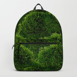 Moss - Green Luscious Mossy Texture - Full on Natural Moss Mounds- Earthy Greens -Turning Moss Green Backpack