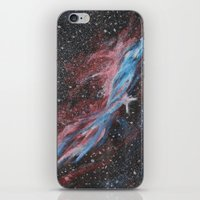 outer space iPhone & iPod Skins featuring Outer Space by Studio 502