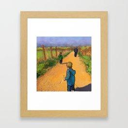 The Road Forward Framed Art Print