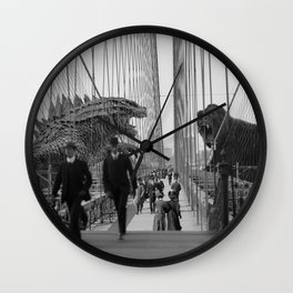 Old Time Godzilla vs. King Kong Wall Clock