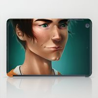 percy jackson iPad Cases featuring Percy Jackson by spookzilla