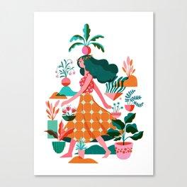 Garden Lady 1 Canvas Print