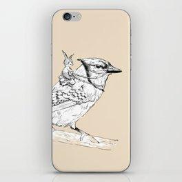 Bubu and the Bird iPhone & iPod Skin